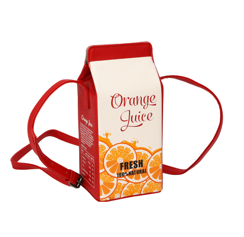 Cartera de orange juice