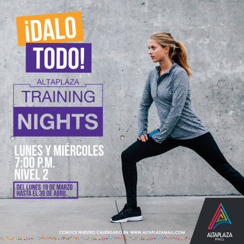 Training Nights 2018 - Side 1 - Altaplaza Mall Panamá